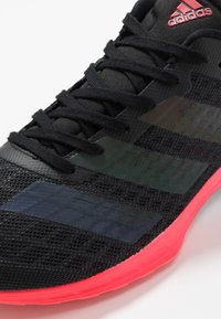 adidas Performance - ADIZERO RC 2 - Competition running shoes - core black/signal pink - 5