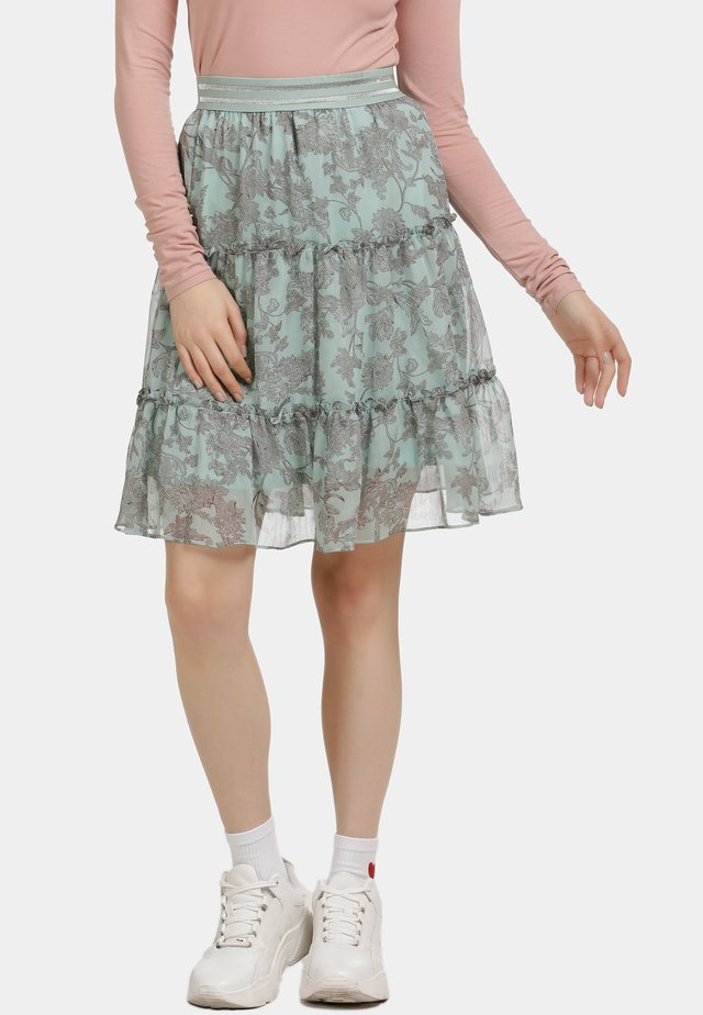 Áčková sukně - minze