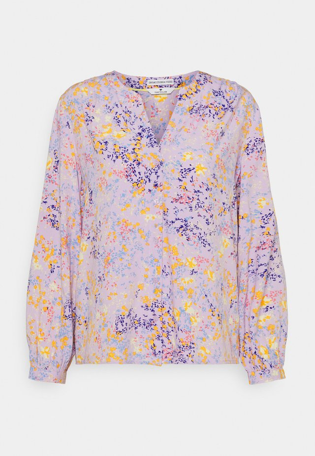 FEMININE WITH PRINT - Camicetta - lilac/yellow