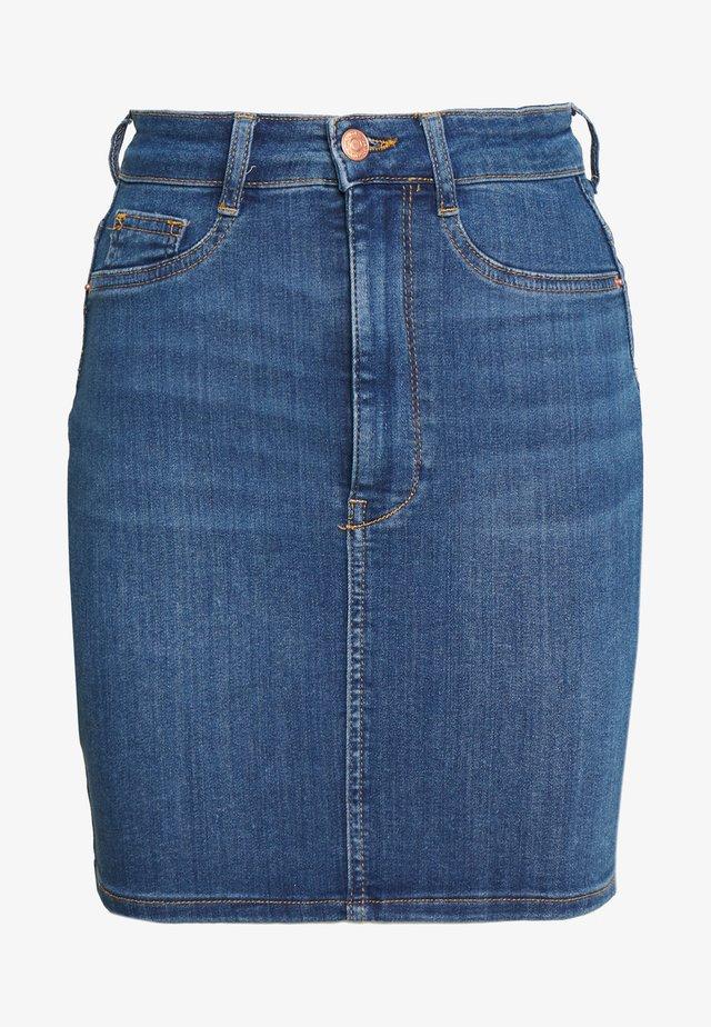 MOLLY SKIRT - Jupe en jean - dark blue denim