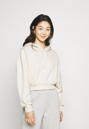 ESSENTIAL OVERSIZED CROPPED  - Mikina - beige