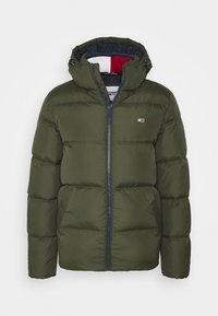 Tommy Jeans - TJM ESSENTIAL DOWN JACKET - Down jacket - dark olive - 0