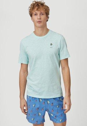 Print T-shirt - bluelight