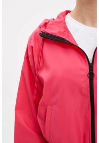 DeFacto - DEFACTO WOMAN LIGHT PINK - Zip-up hoodie - pink - 4