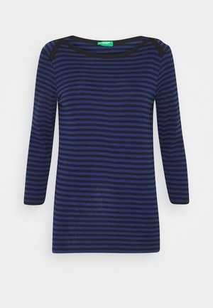 Long sleeved top - black/blue