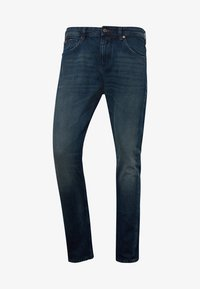 TOM TAILOR DENIM - Slim fit jeans - used dark stone blue denim - 5