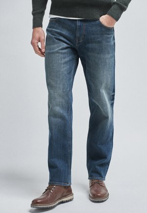 Straight leg jeans - dirty denim