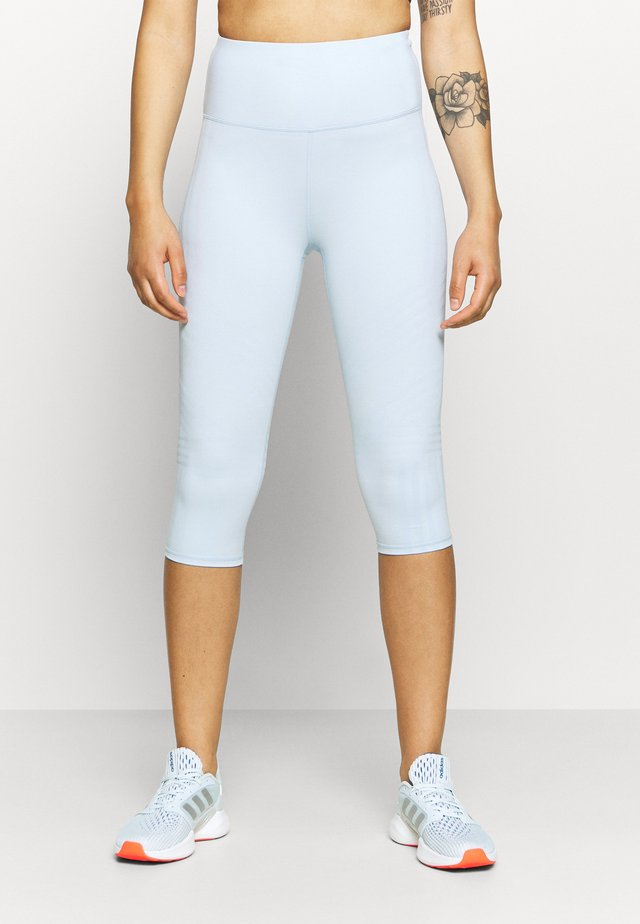 STRIPE CAPRI - Legging - baby blue