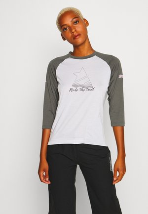 PUREFLOWZ 3/4 - Funktionsshirt - glacier grey/gun metal/blush