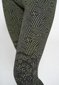 Heart and Soul - REEF - Legging - black military green - 4