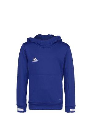 TEAM 19 KAPUZENPULLOVER KINDER - Hoodie - navy blue / white