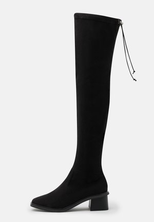 TOMORROW OVER THE KNEE BOOT - Over-the-knee boots - black