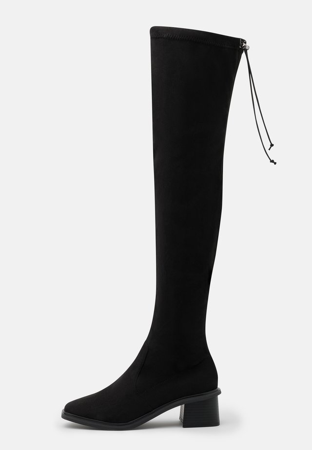 TOMORROW OVER THE KNEE BOOT - Stivali sopra il ginocchio - black