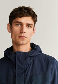 Mango - SUFI - Summer jacket - dunkles marineblau - 4