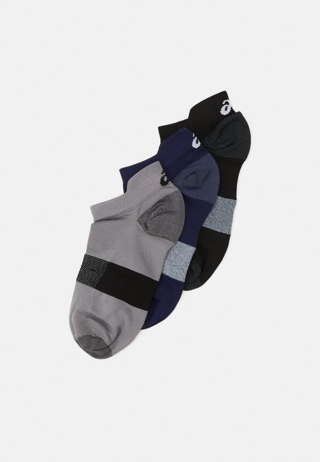 LYTE 3 PACK UNISEX - Chaussettes de sport - stone grey/performance black/peacoat