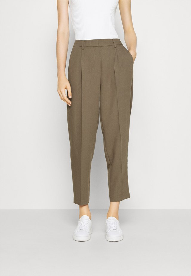PARI DAGNY - Pantalon classique - earth brown