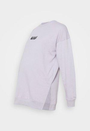 MAMA  - Sweater - lilac