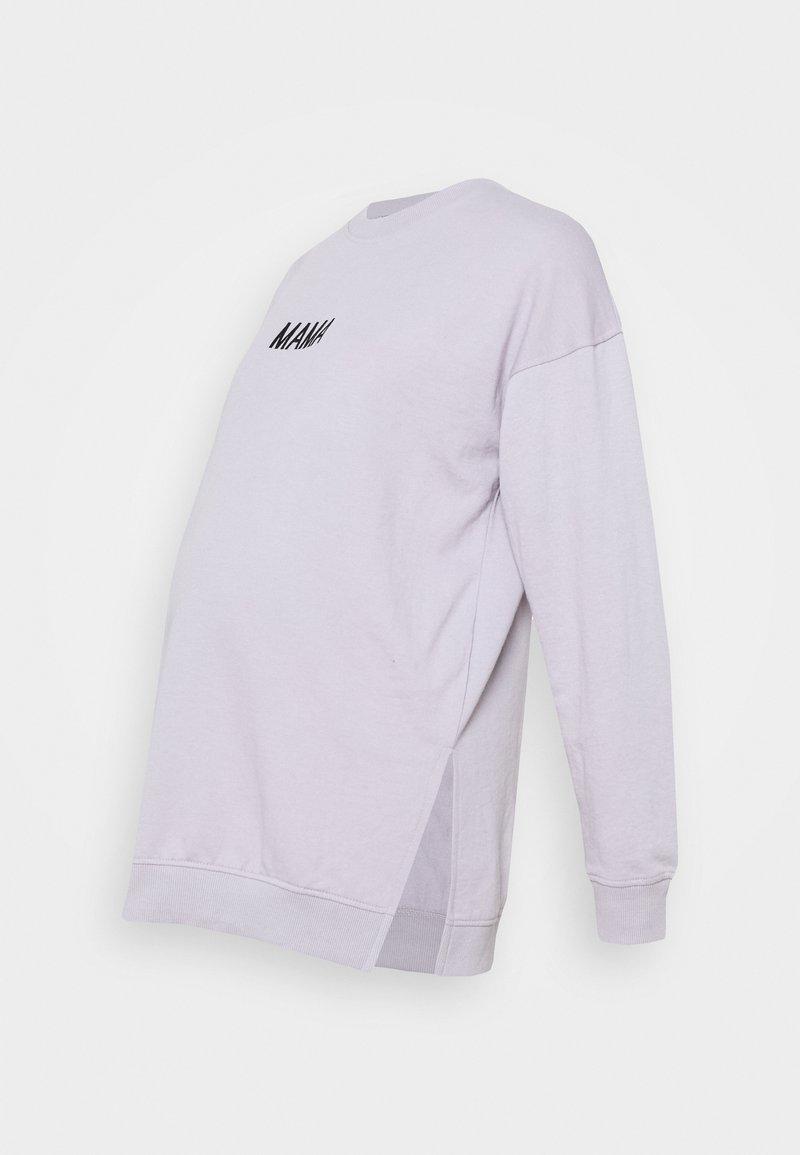 Missguided Maternity - MAMA  - Sweatshirt - lilac