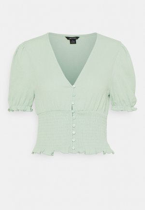 ZANJA - T-shirt con stampa - green dusty light
