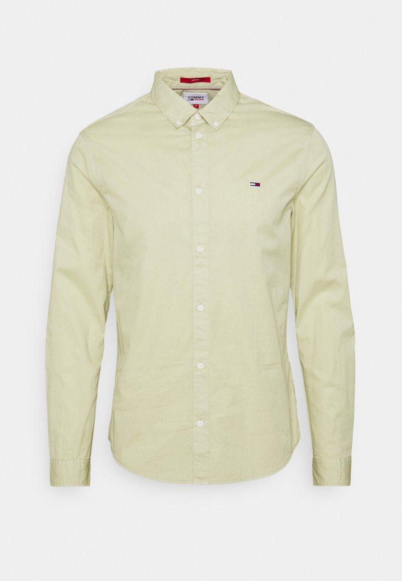 Tommy Jeans - LIGHTWEIGHT TWILL SHIRT - Skjorta - green