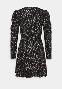 The Kooples - ROBE - Cocktail dress / Party dress - black / silver - 1