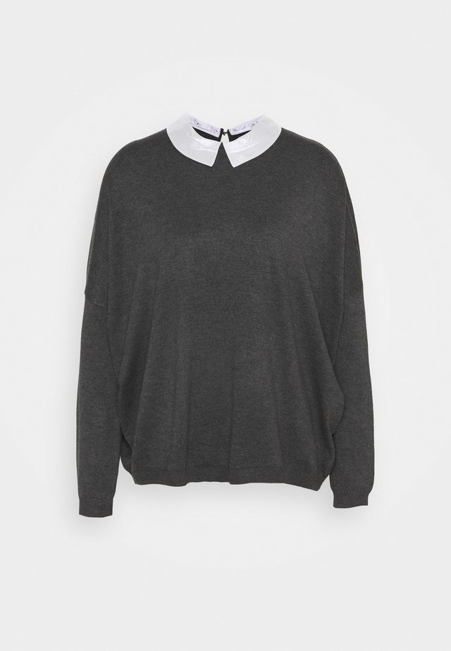 COLLAR SPECIAL - Jumper - medium grey