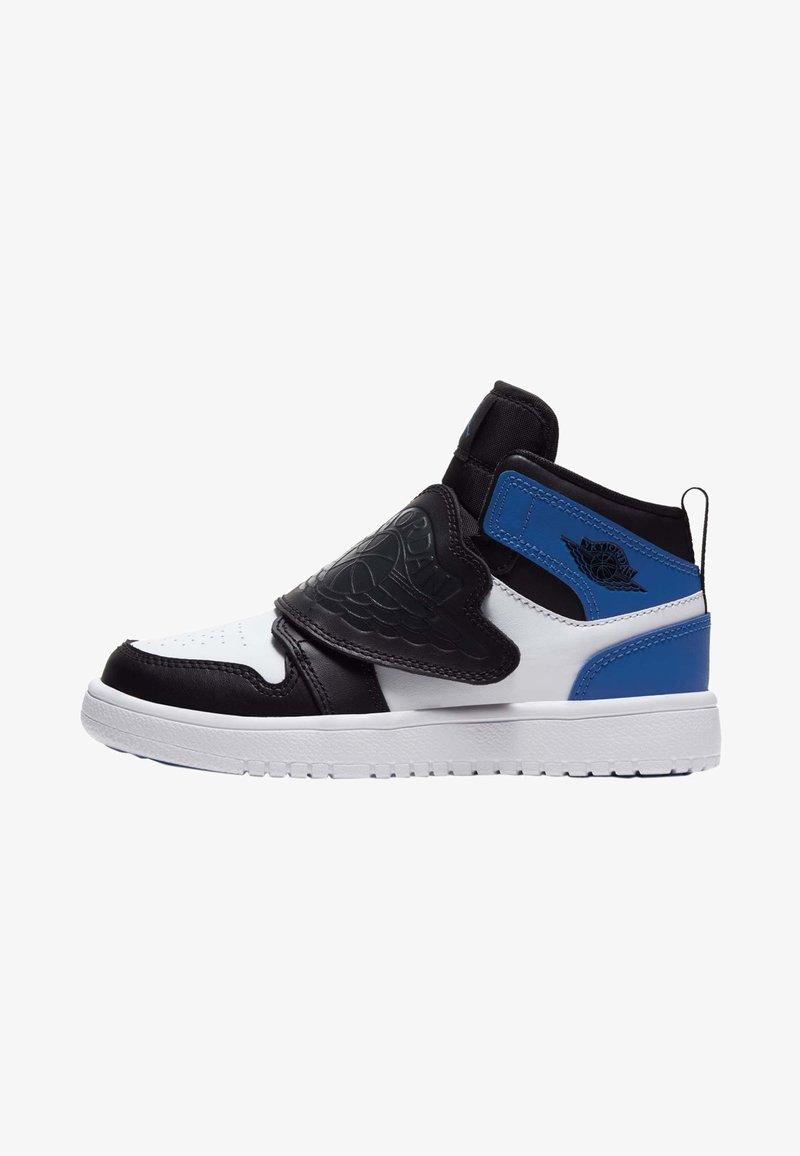 Jordan - SKY 1 UNISEX - Basketball shoes - white/sport blue-black