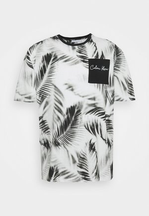 SUMMER ALLOVER  - Print T-shirt - white