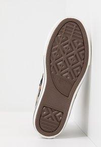 Converse - CHUCK TAYLOR ALL STAR - Zapatillas altas - black/bold mandarin/amarillo - 5