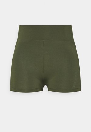 MID RISE SHORT SHORTS - Leggings - green