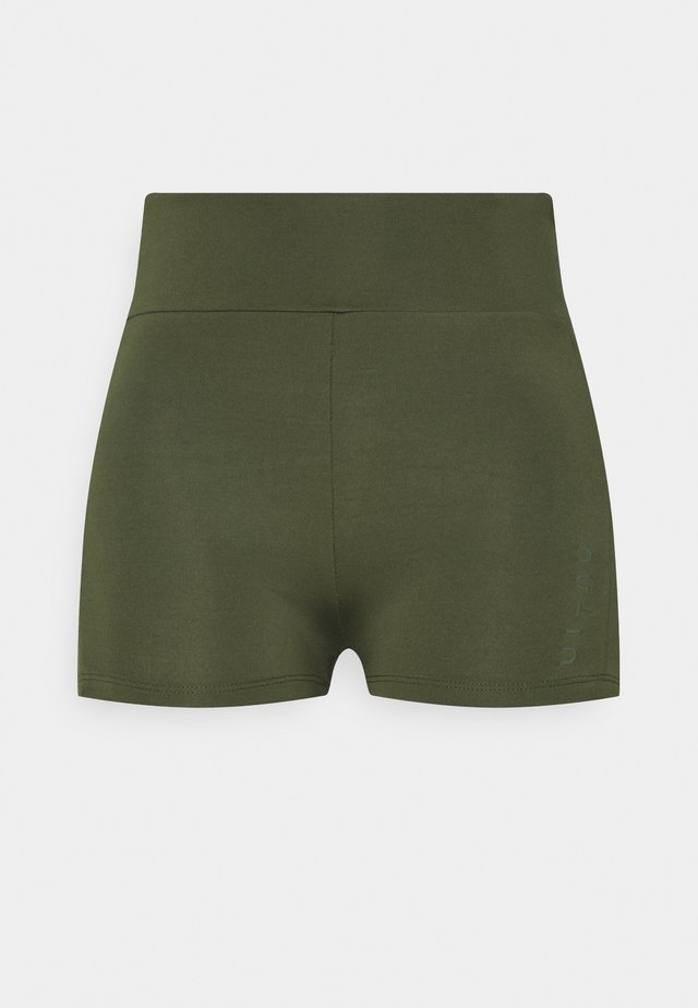 MID RISE SHORT SHORTS - Collants - green