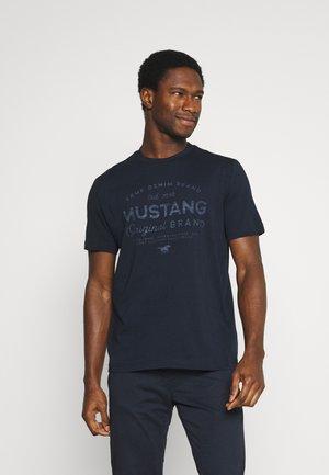ALEX - Camiseta estampada - dark sapphire