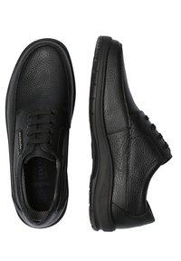 Mobils Ergonomic - SCHUHE EZARD - Casual lace-ups - black - 0
