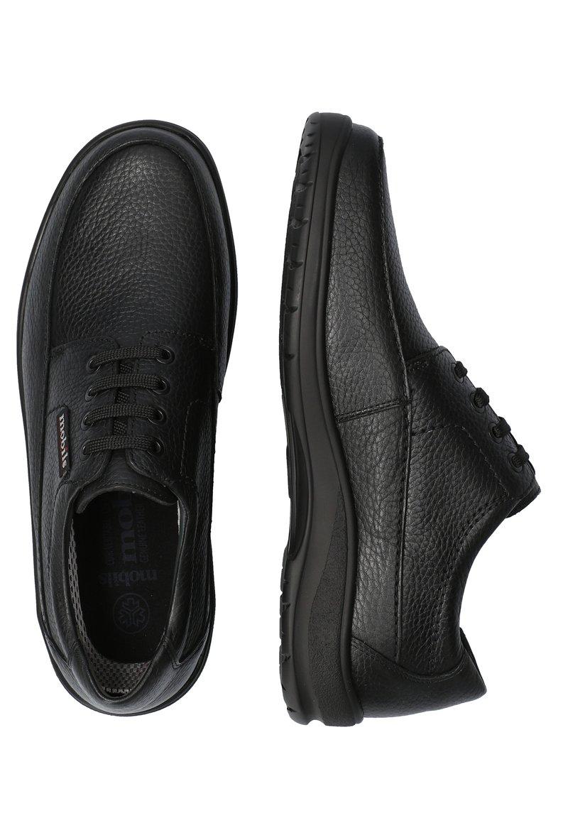 Mobils Ergonomic - SCHUHE EZARD - Casual lace-ups - black