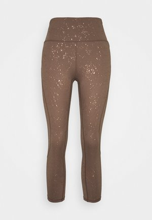 WILDERNESS 3/4 - 3/4 sports trousers - cinnamon