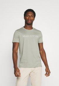 Marc O'Polo - SHORT SLEEVE - T-Shirt print - grey - 0