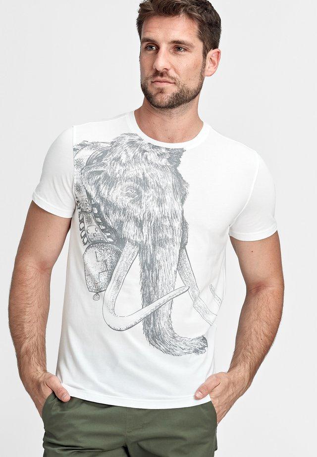 T-shirt con stampa - bright white prt2