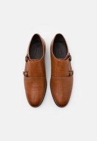 Zign - Elegantní nazouvací boty - cognac - 3