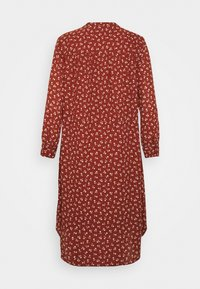 Selected Femme - SFDAMINA DRESS  - Day dress - dark red - 1