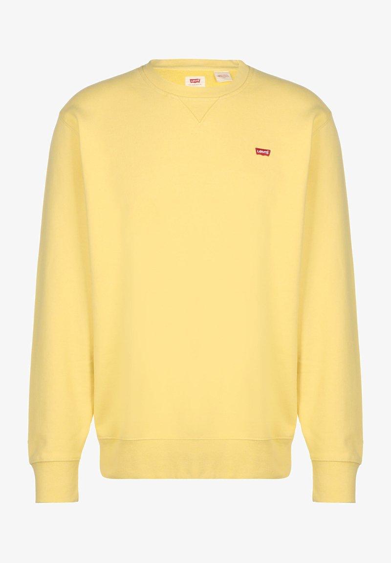 Levi's® - NEW ORIGINAL CREW UNISEX - Sweatshirt - dusky citron