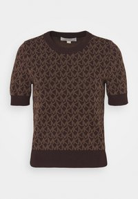 MICHAEL Michael Kors - LOGO  - T-shirt imprimé - chocolate - 4