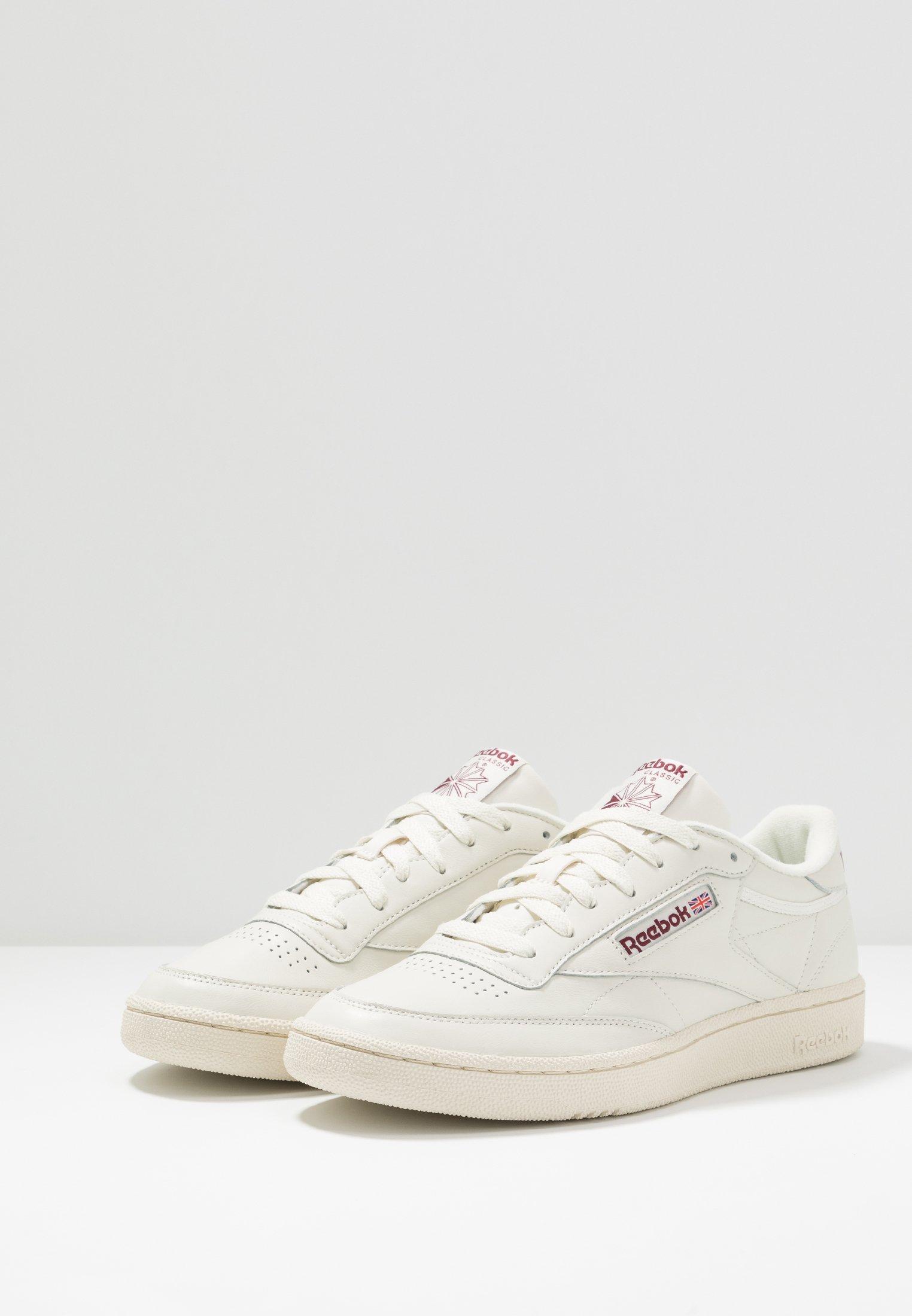 Reebok Classic CLUB C 85 Sneaker low chalk/paperwhite/maroon/offwhite