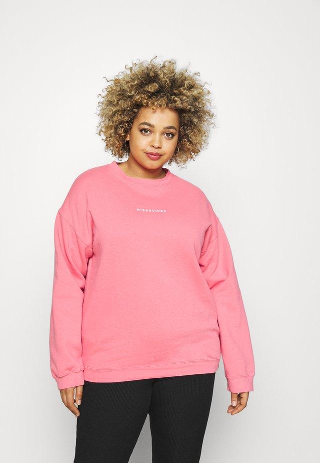 WASHED BASIC  - Sweater - rose