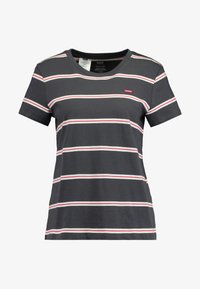 Levi's® - PERFECT TEE - T-shirts med print - amira/forged iron - 4