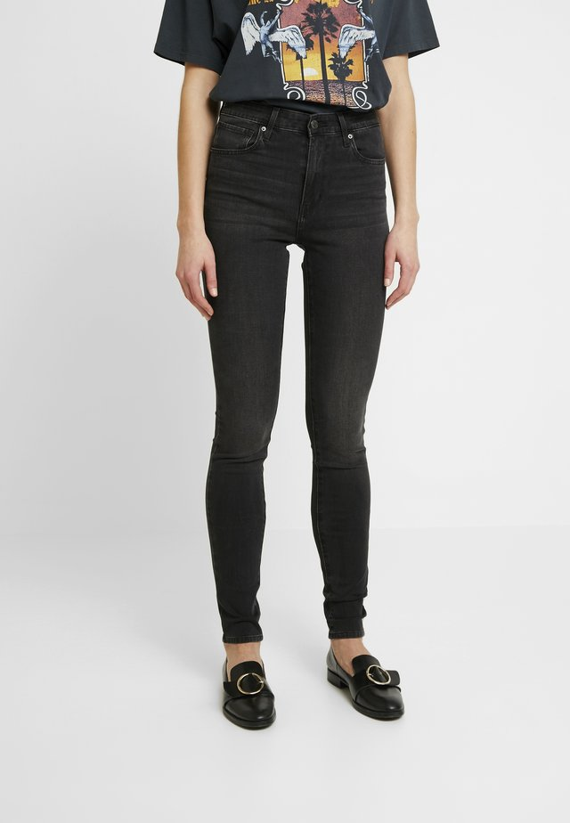 721 HIGH RISE SKINNY - Jeansy Skinny Fit - shady acres