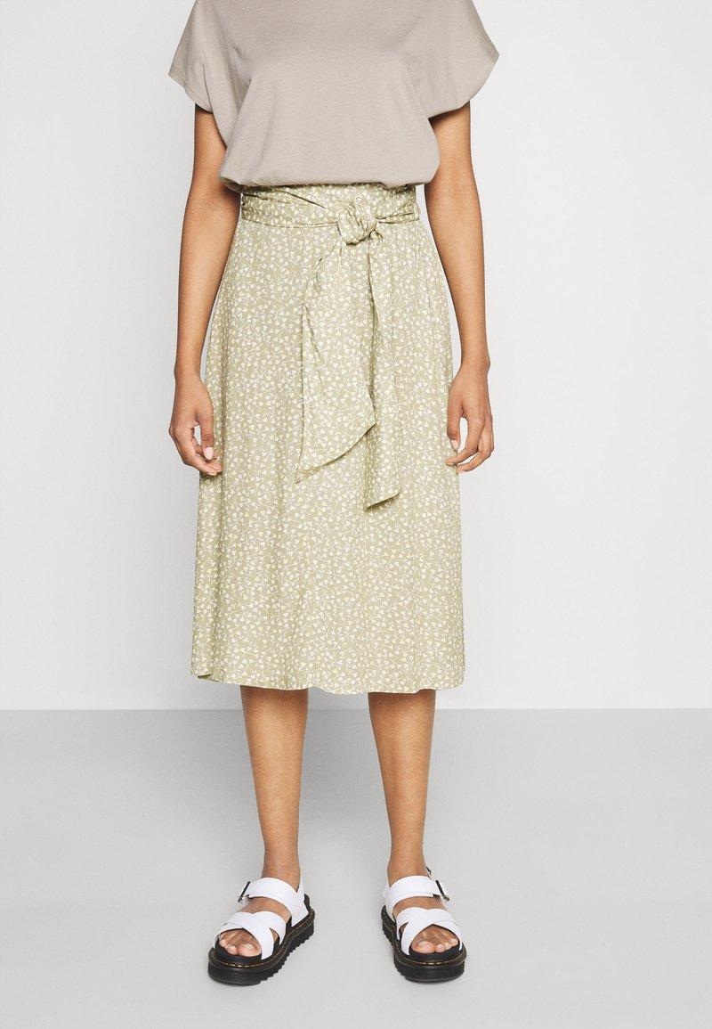 Monki - A-line skirt - beige
