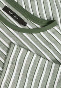 Matinique - Print T-shirt - olive night - 5