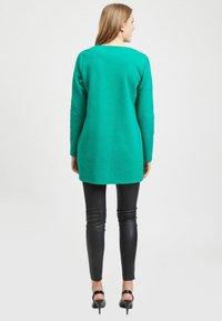 Vila - VINAJA NEW LONG JACKET - Summer jacket - pepper green - 2