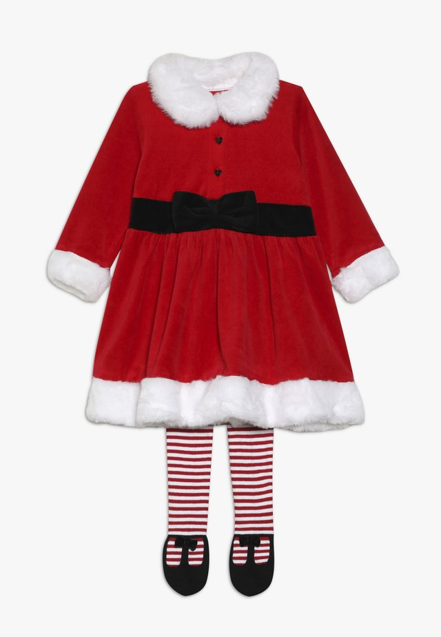 BABY FEST MRS SANTA SET - Leggings - red