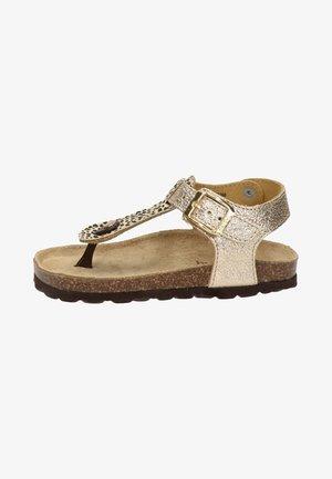 RIKULU 4  - T-bar sandals - goud